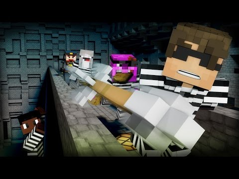 Minecraft Mini-Game: COPS N ROBBERS! (MAX'S MELTDOWN!) /w Facecam
