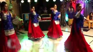 Beautifull Punjabi Girls Dance | Dholi -DJ Sound Setup & Lights  Amy Events