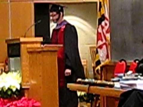 University of Maryland Architecture Graduation Speech Fall 2010: Arik Lubkin