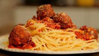Spaghetti Meatballs    Spaghetti with Meatballs in Marinara Sauce   Nick Saraf's Foodlog