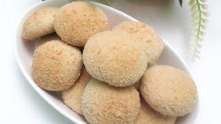 কোকোনাট বিস্কুট তৈরির সহজ রেসিপি//coconut biscuit recipe//biscuit recipe