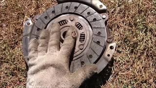 Замена сцепления ВАЗ 2114-2115 без ямы и сливания масла