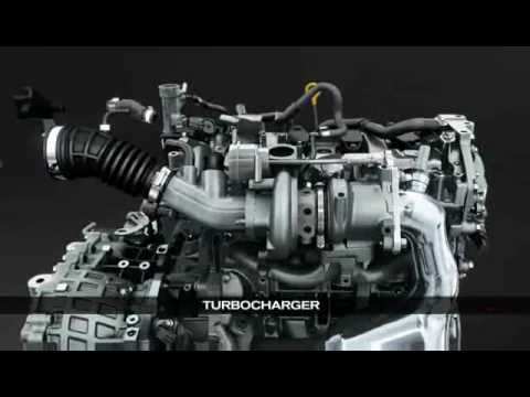 Motor Nissan 1 6l Direct Injection Turbo Youtube