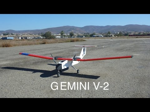 Gemini V-2 Custom UAV with Extensive Modifications