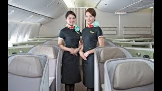 5-STAR AIRLINE EVA AIR BUSINESS CLASS- TAIPEI(TPE) - BANGKOK(BKK). B777-300ER