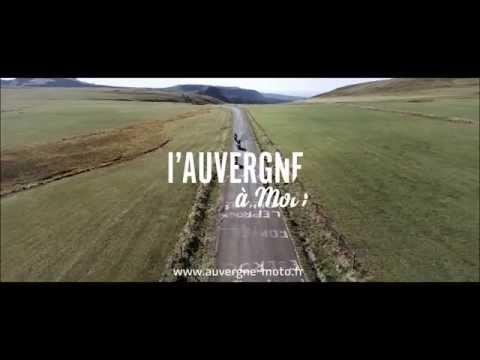 L'Auvergne à moto