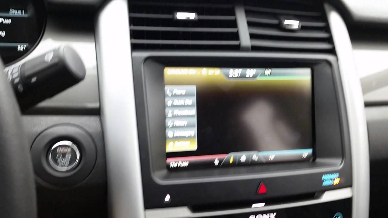 2014 F150 Headlights >> 2014 Ford Edge Sport backup camera issue - YouTube