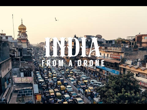 Stunning aerial drone footage of INDIA - 4K