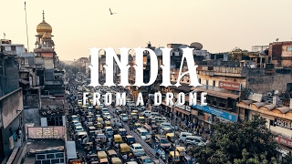 Stunning aeriel drone footage of INDIA - 4K(Filmed with the DJI Phantom 2 and GoPro Hero 4 over the course of 3 weeks. Locations include:New and old Delhi, Agra, Jaipur, Rishikesk, Ganges river, and ..., 2015-11-25T04:00:13.000Z)