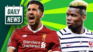 CHAMPIONS LEAGUE FINAL: Liverpool fans stranded, Emre Can injury + Pogba dissed by Denmark boss