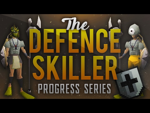 The Defence Skiller - Ep. 3 - OSRS Runescape 2007 - 10 HP Defence Pure Progress Series