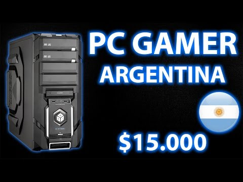 PC Gamer ARGENTINA 2016 | $15.000  | Gama media (Intel)