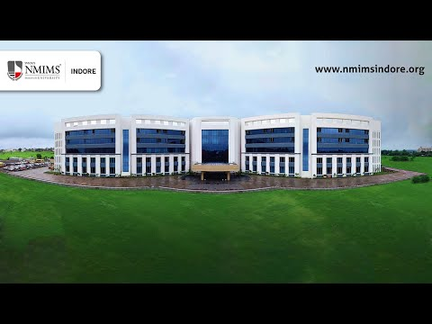 SVKM's NMIMS INDORE - Beautiful & World-Class Campus