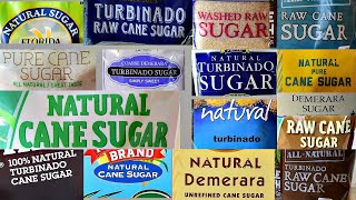 Raw Sugars   How to Recognize Them?