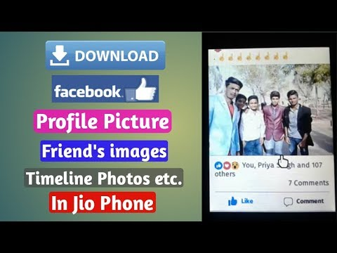 How to download facebook videos on jio phone