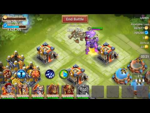 Castle Clash - Hero Review - Revenant!