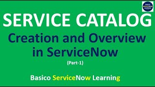 Overview of SERVICE CATALOG || How to Design SERVICE REQUEST ITEM in ServiceNow (Complete Demo)