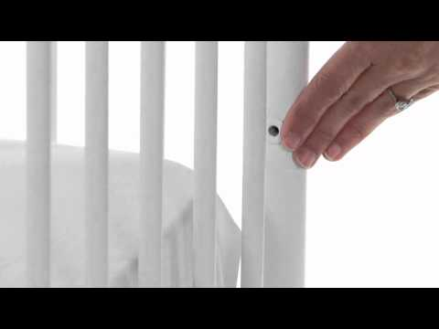Check Out The Stylish And Safe Emma Iron Baby Crib| Pottery Barn Kids