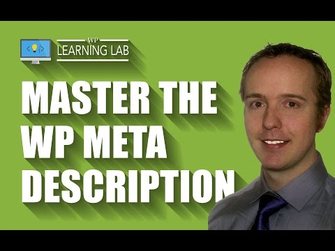 WordPress Meta Descriptions Are Very Important For Click Through Rates (CTR) - 동영상