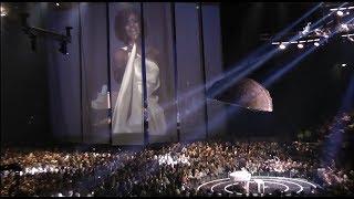 """Дима Билан и  Whitney Houston - I Look to You. """"Планета Билан"""" 06.02.19 Москва"""