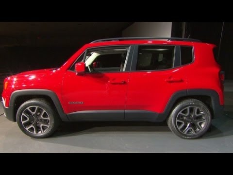 New Jeep Renegade >> Jeep's new ultra small SUV - YouTube