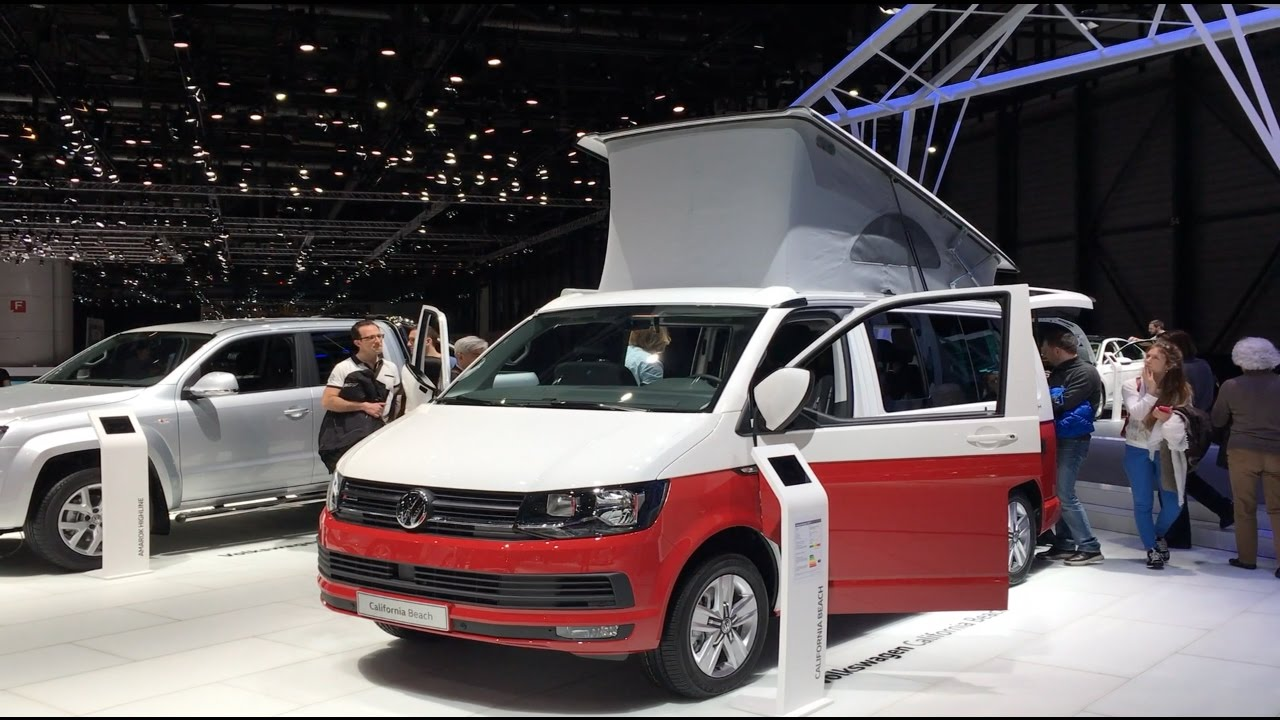volkswagen california beach 2017 in detail review walkaround interior exterior youtube. Black Bedroom Furniture Sets. Home Design Ideas