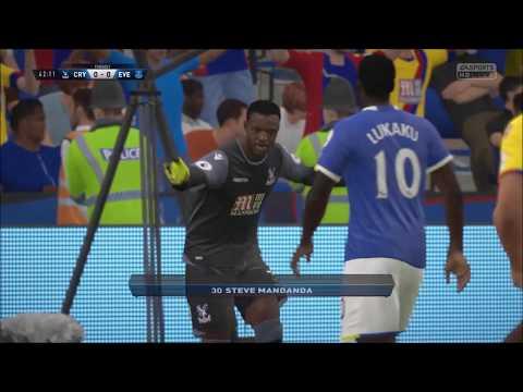 FIFA 17| Crystal Palace vs Everton| Full match gameplay