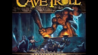 Boardgame Knights Unboxing: Cave Troll