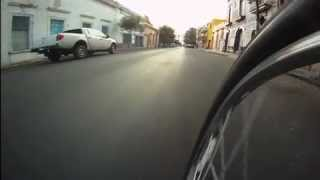 Las calles pavimentadas por Aristóteles junto a la Preparatoria Jalisco
