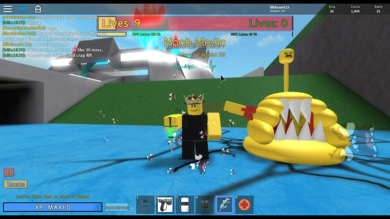 Noob Vs Zombie Roblox Noobs Vs Zombies Realish My Army Of Mutants Youtube