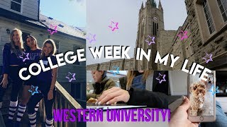 COLLEGE WEEK IN MY LIFE | Week at Western University!
