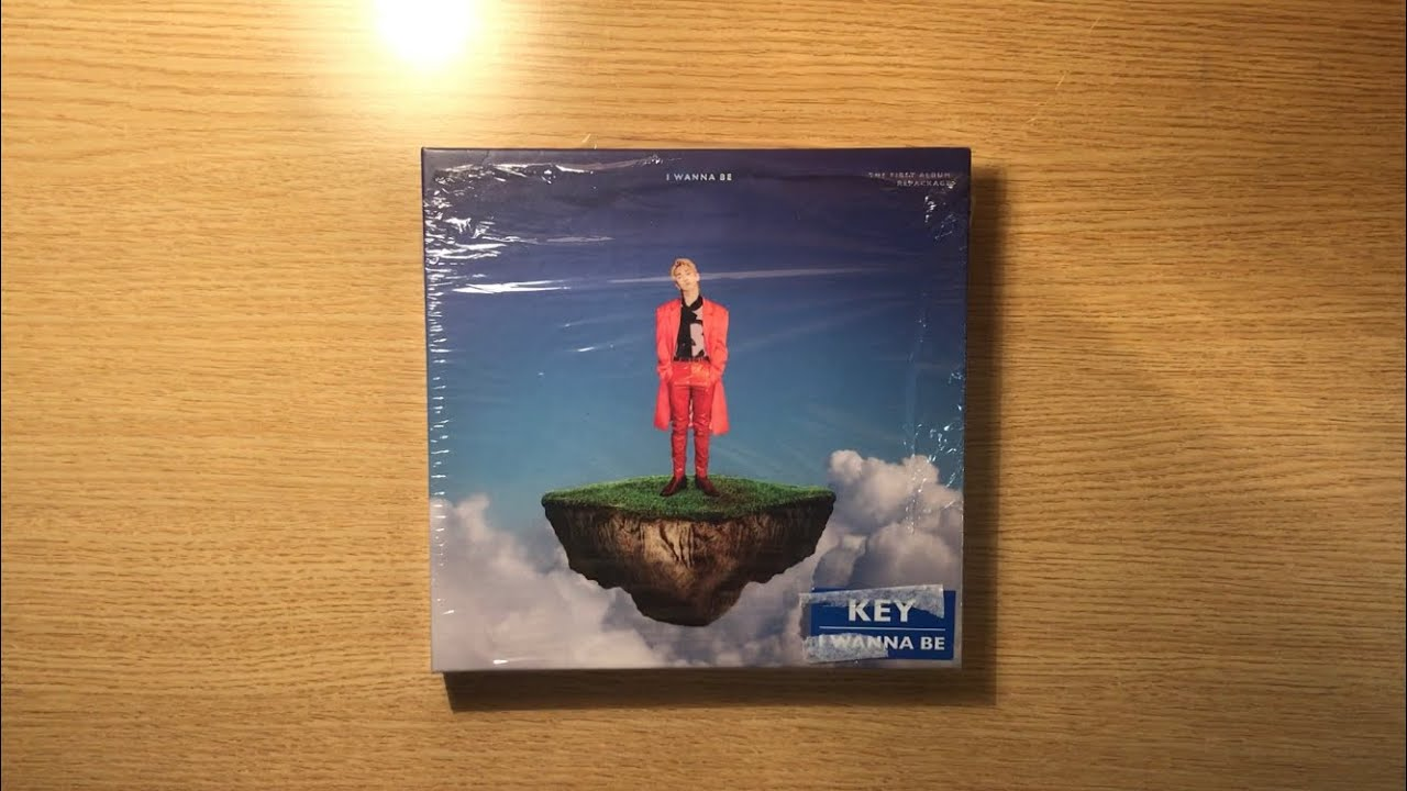 Unboxing Key 1st Album repackage I wanna be