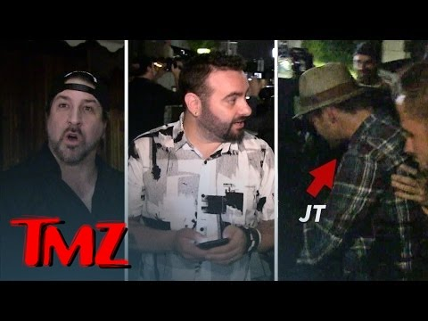 NSYNC -- Timberlake and Crew Celebrate JC's 40th Birthday | TMZ