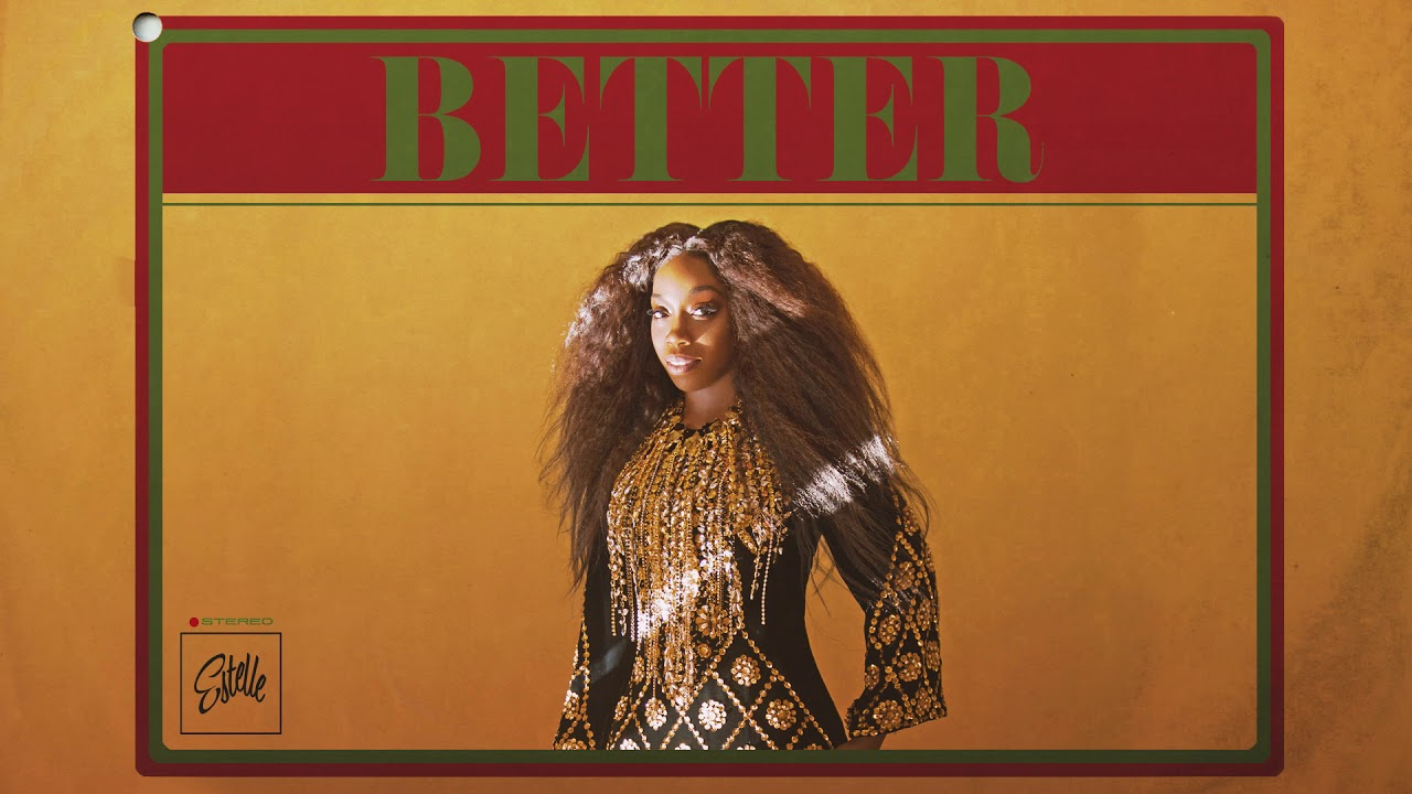 Better by Estelle single cover art.