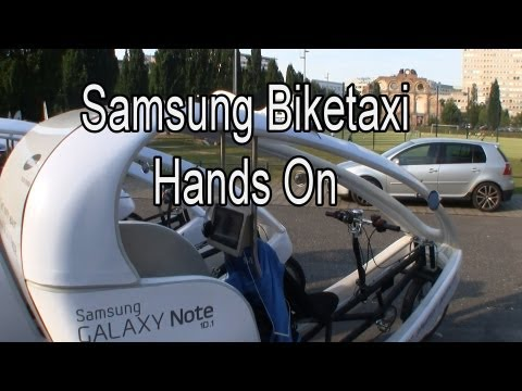 Samsung Biketaxi sports Galaxy Note 10.1