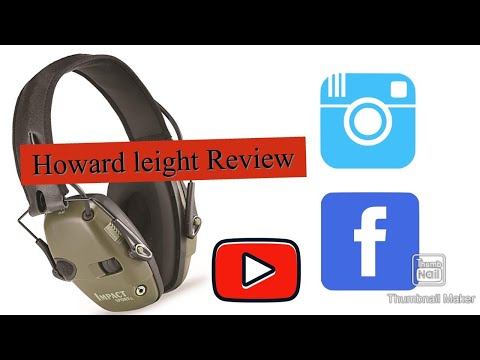 Howard Leight by Honeywell Impact Sport Sound Amplification Electronic Shooting Earmuff Review