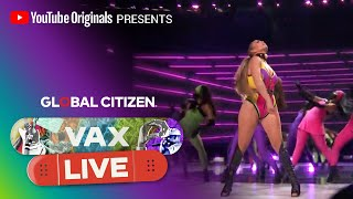 "Jennifer Lopez Performs ""Ain't Your Mama"" 