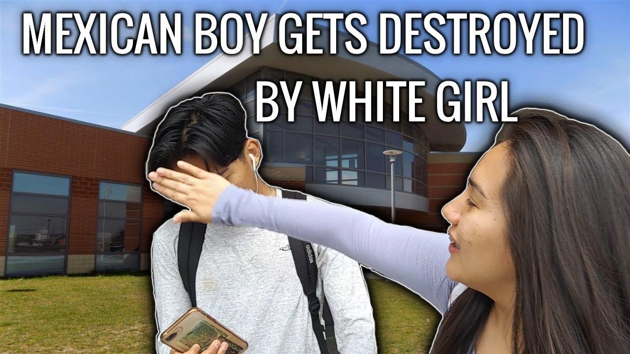 Black Girl White Cock Creampie