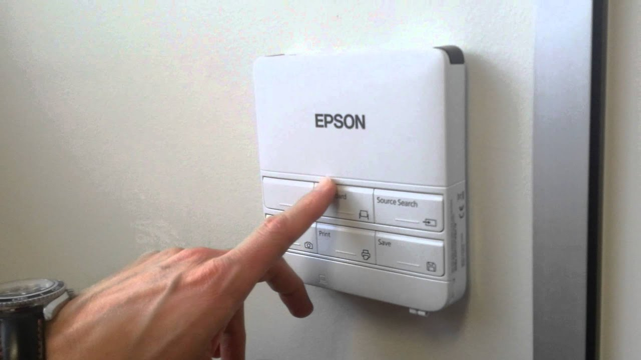 Epson Wall Control Panel For Meeting Mate Interactive