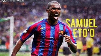 Samuel Eto'o ● FC Barcelona 2004-2009 ● Best Goals HD
