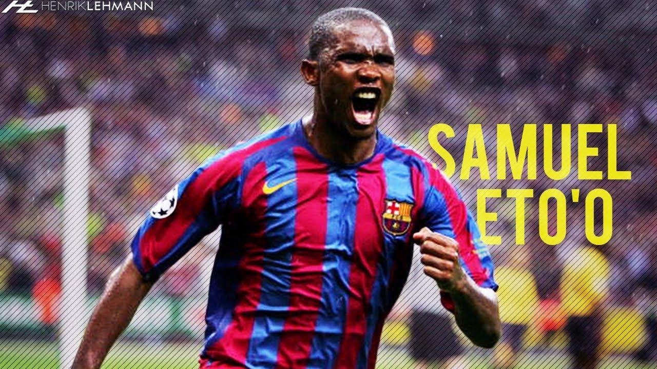 Samuel Eto'o FC Barcelona 2004-2009 Best Goals HD - YouTube