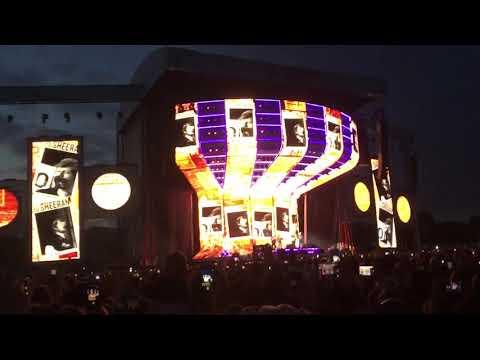 Ed Sheeran - Galway Girl live from Dublin 18/5/18