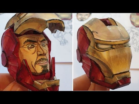 IRON MAN (marvel) - Paper Model