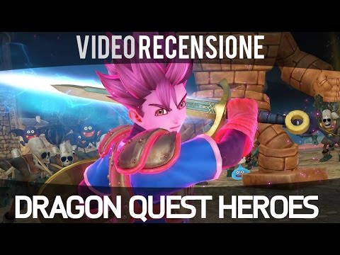 Dragon Quest Heroes - Recensione ITA - Gameplay HD