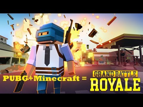 PUBG + Minecraft = Grand Battle Royale Pixel War (Android/iOS)