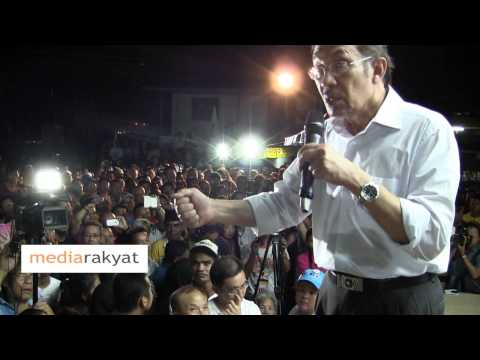 N13 Inanam - Anwar Ibrahim: Mahathir, Who Give You The Right To Question Citizenship Of Our Rakyat?