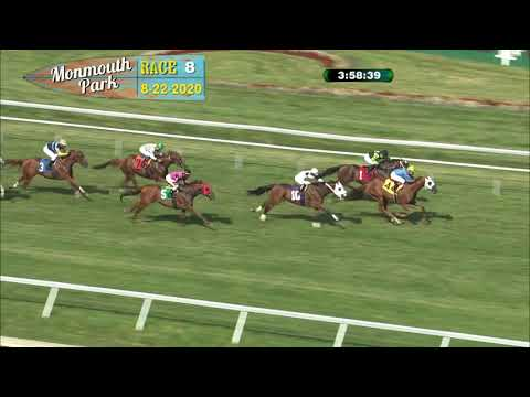 video thumbnail for MONMOUTH PARK 08-22-20 RACE 8