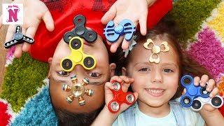 Fidget Spinner Challenge СПИННЕР Челлендж Новая коллекция спиннеров делаем трюки со спиннером