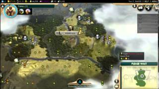 Civ 5 Rage Against the A.I. as Germany Ep. 1: Hail Hydra