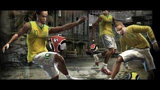 Fifa street 2 Pcsx2 gameplay, brazil vs germany